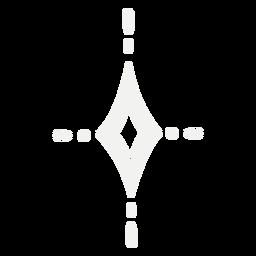 Diseño de símbolo brillante