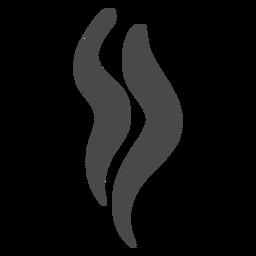 Icono de hebras de humo