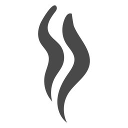 Strands of smoke icon