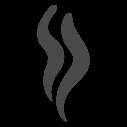Strands of smoke icon