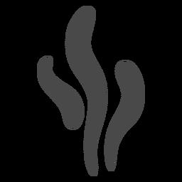 Ícone de formas de fumaça de fios
