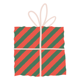 Stripes gift envelope illustration