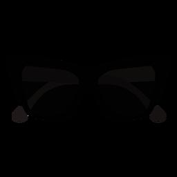 Diseño plano de gafas de sol