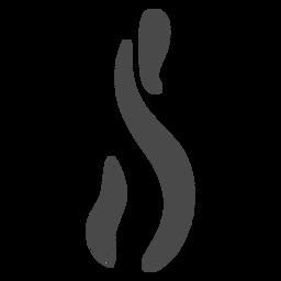 Ícone alto de fumaça