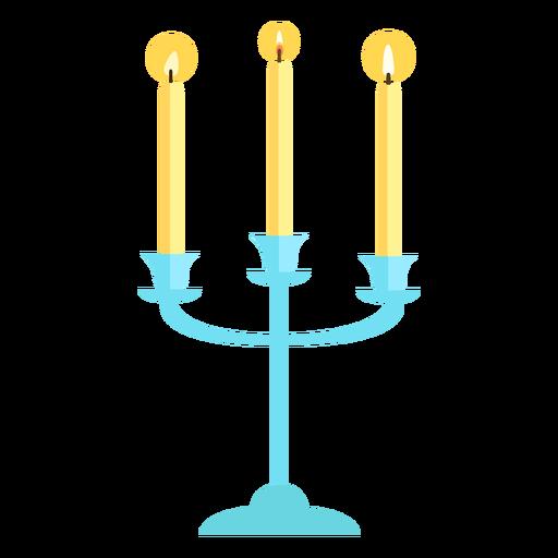Triplet candelabra flat