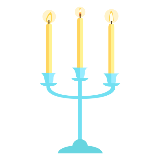 Triplete candelabro plano