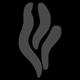 Icono de vapor