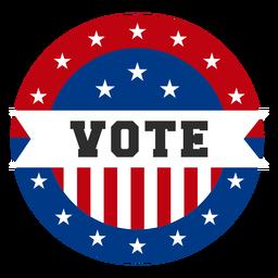 Stimmen Sie USA Design