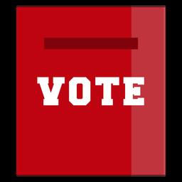 Design de eleições da página de votação