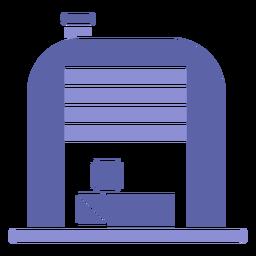 Icono de caja de almacén