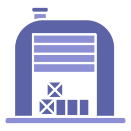 Warehouse box icon