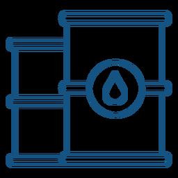 Diseño de trazo de contenedores de agua