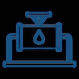 Curso de indústria de máquinas de água