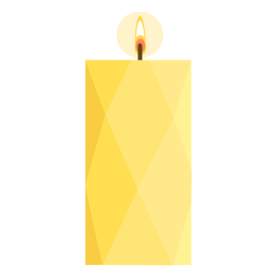 Pilar largo plano de vela