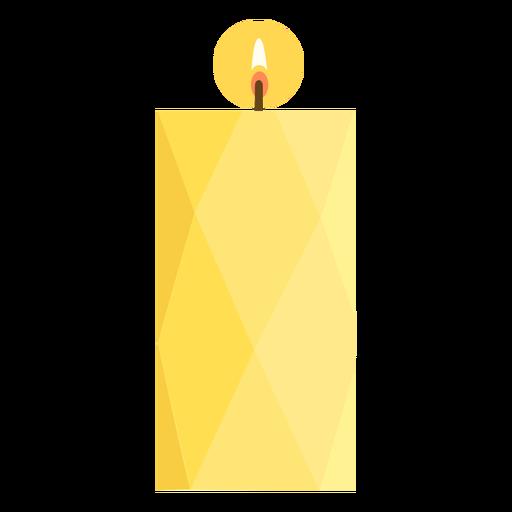 Candelero de pilar ancho plano