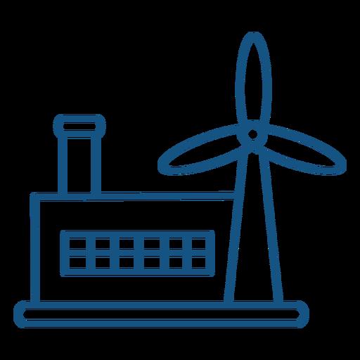 Wind power industry stroke
