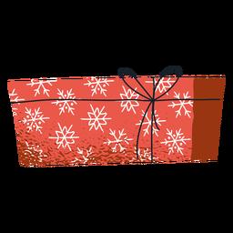 Paquete de regalo de sobre de invierno