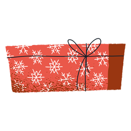 Winter envelope gift package