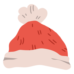 Chapéu de inverno natal design