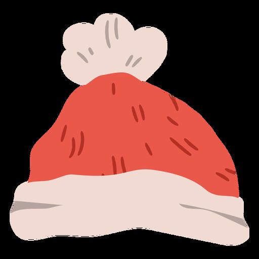 Winter hat christmas design Transparent PNG