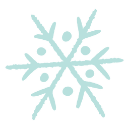Winter snowflake illustration
