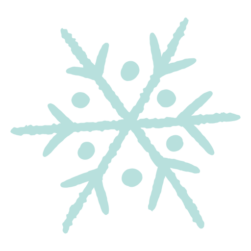 Winter snowflake illustration Transparent PNG