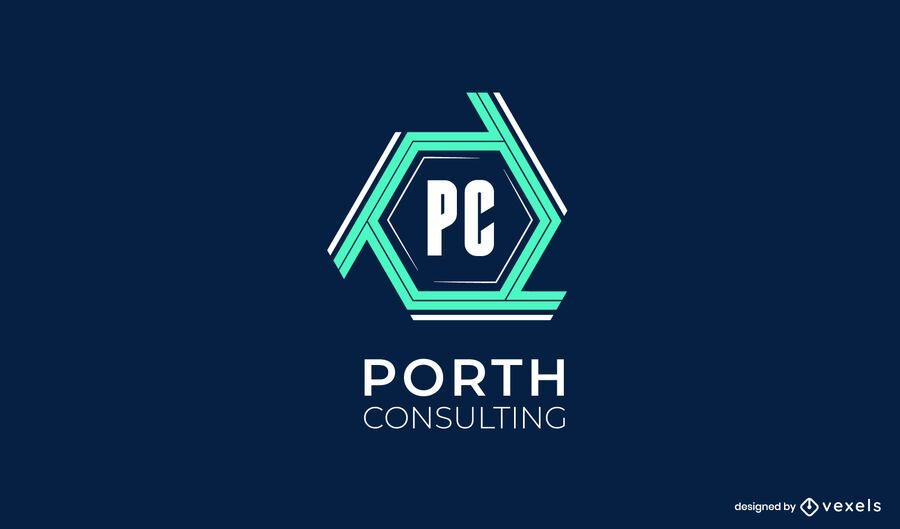 Porth Consulting Logo Design