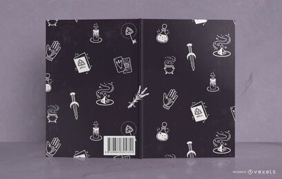 Diseño de portada de libro Mystic Journal
