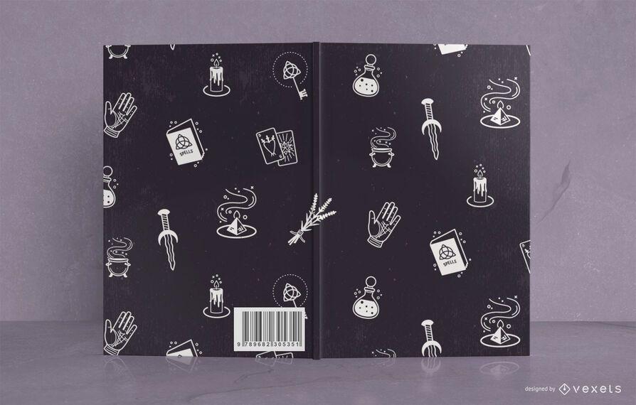 Mystic journal book cover design