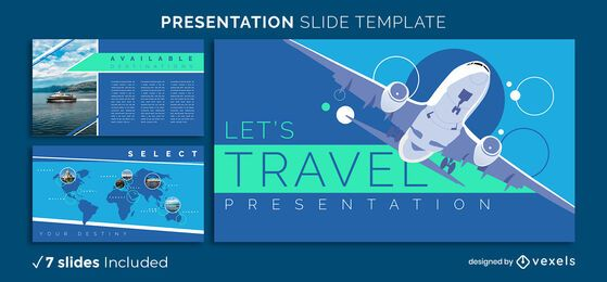 Travel Presentation Template