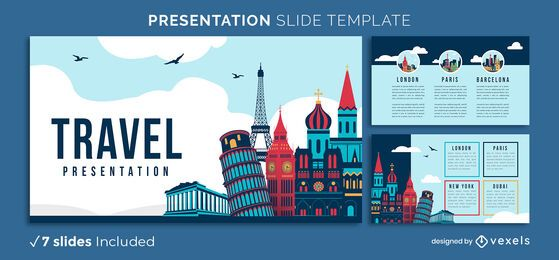 World Travel Presentation Template