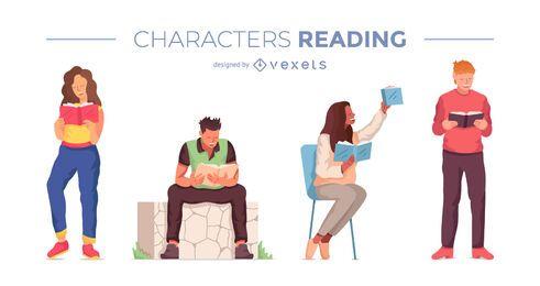 Lesen des Zeichensatzdesigns