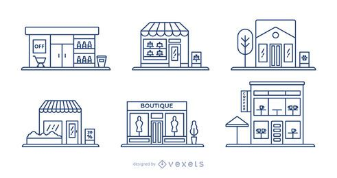 Store stroke set design