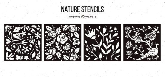 Nature Stencil Design Pack
