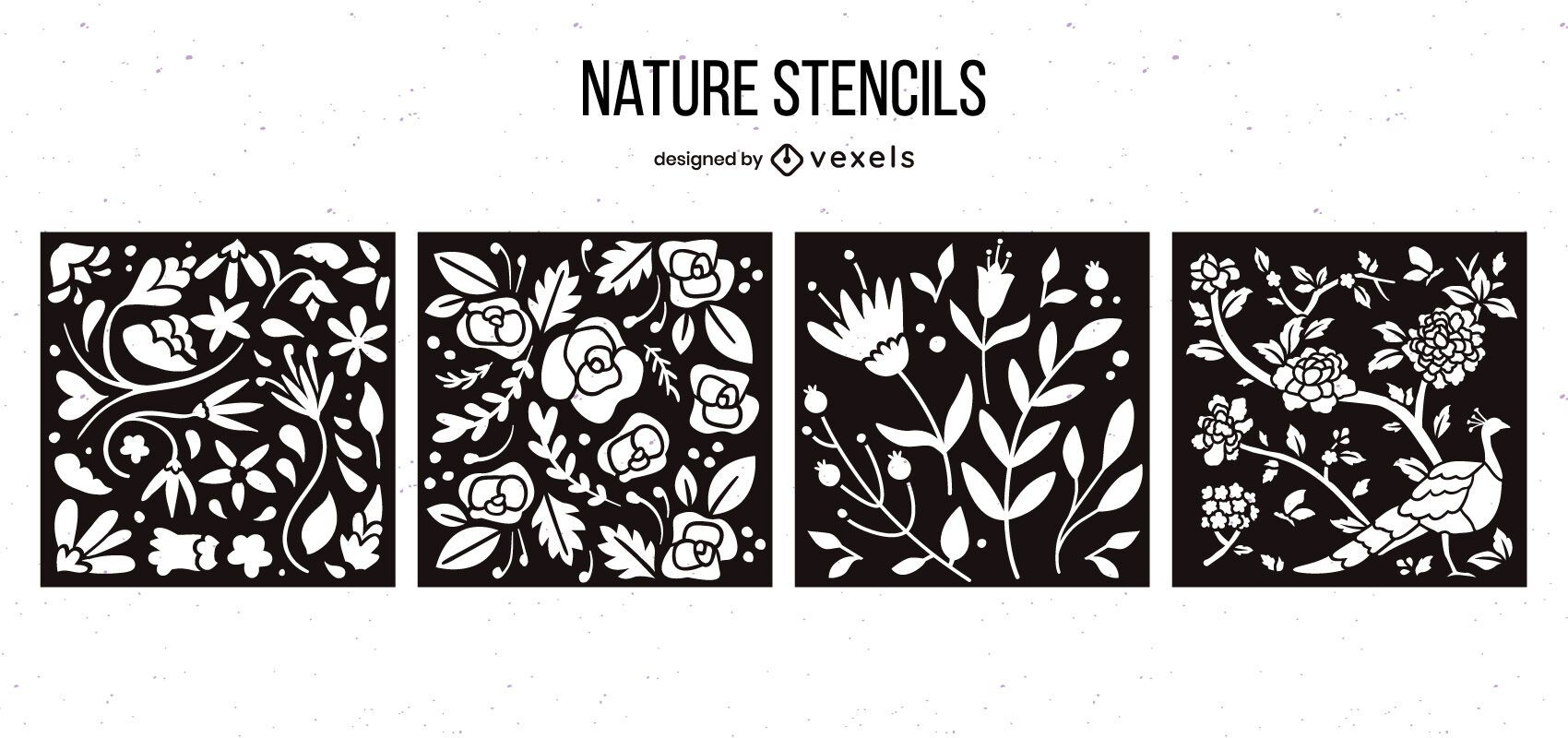 Nature Stencil Design Pack