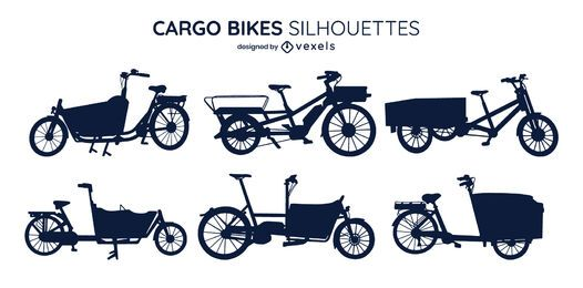 Cargo Bike Silhouette Pack