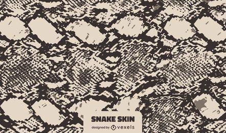 Diseño de textura de piel de serpiente oscura