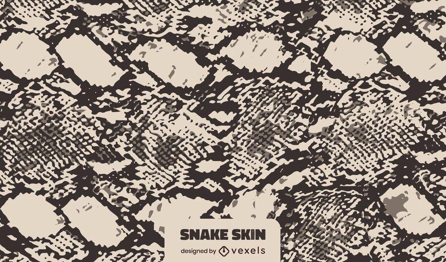 Dark Snake Skin Texture Design