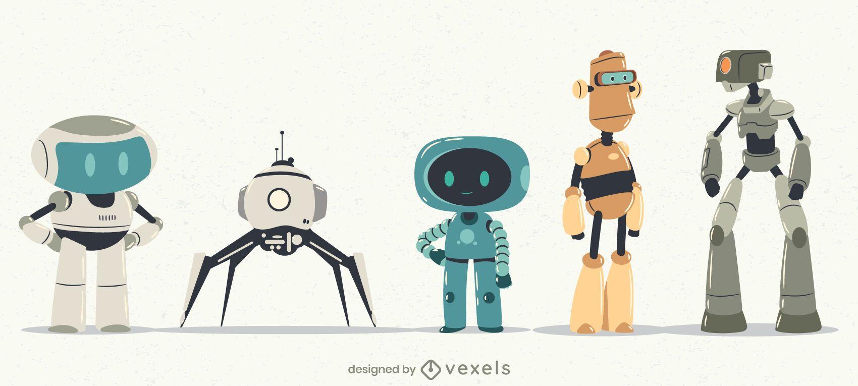 Diseño de personajes de robots