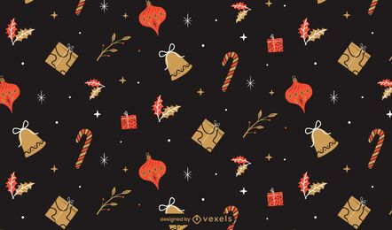 Xmas holiday pattern design