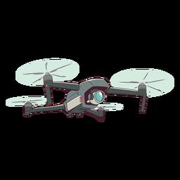 Ilustração de drone de câmera