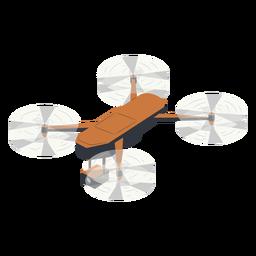 Ilustración de drone de cámara voladora