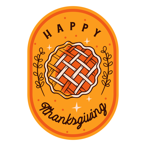 Happy thanksgiving badge thanksgiving Transparent PNG