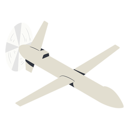 Military drone illustration