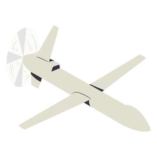 Military drone illustration Transparent PNG