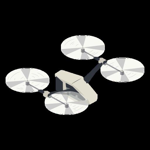 Ilustraci?n de drone volador peque?o