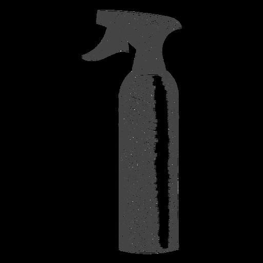 Spray bottle hand drawn