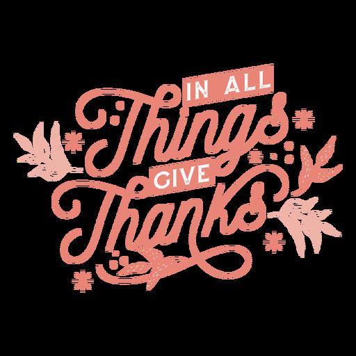 Letras de agradecimiento de acción de gracias