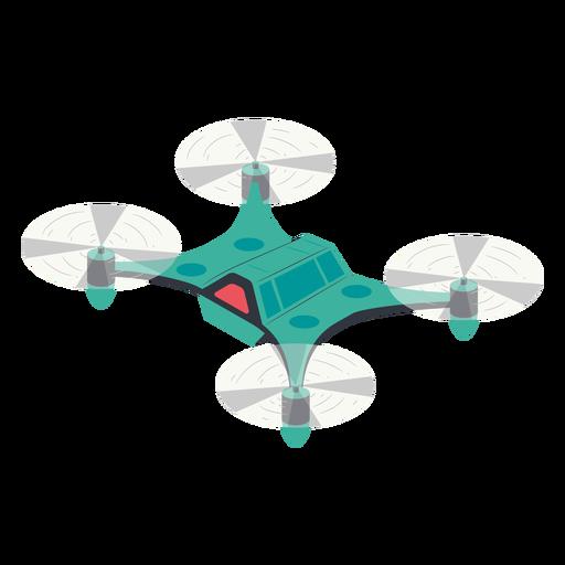 Ilustraci?n de drone volador