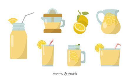 Lemonade flat set